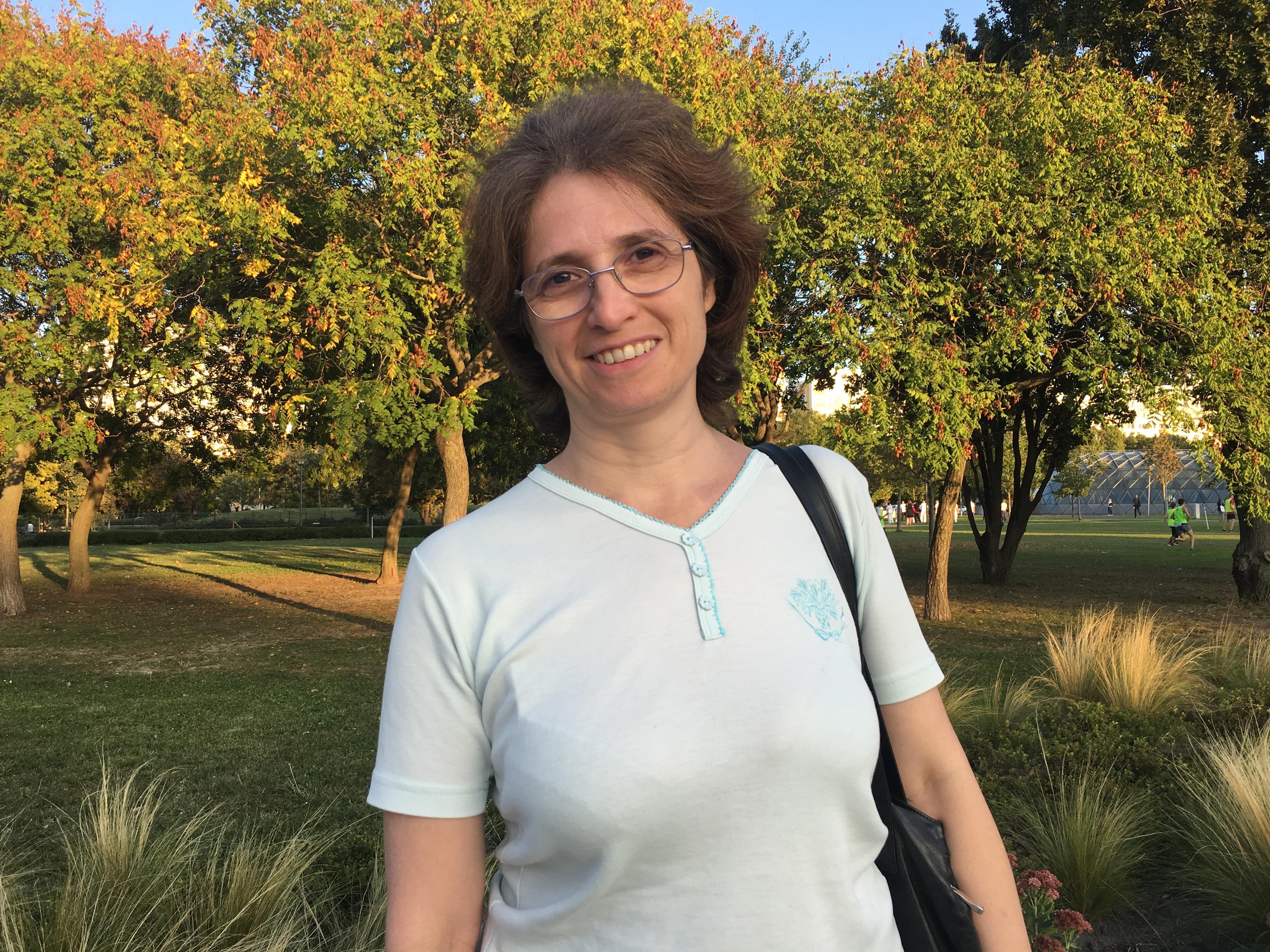 Adrienn, participant of 2019 Budapest pilot