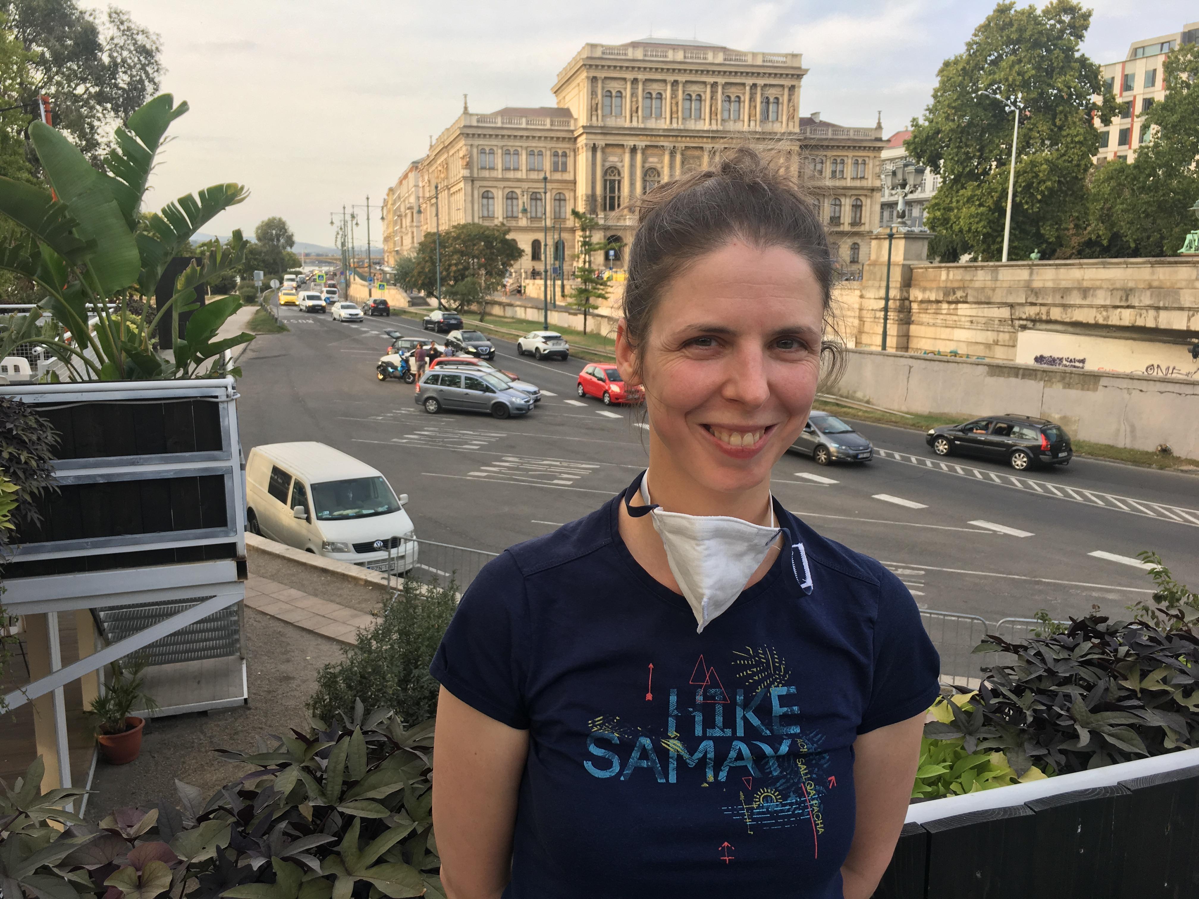 Krisztina, participant of 2019 Budapest pilot